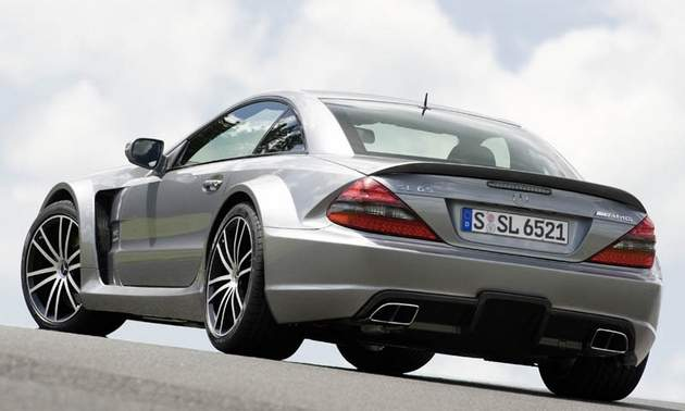 mercedes sl65 fashion