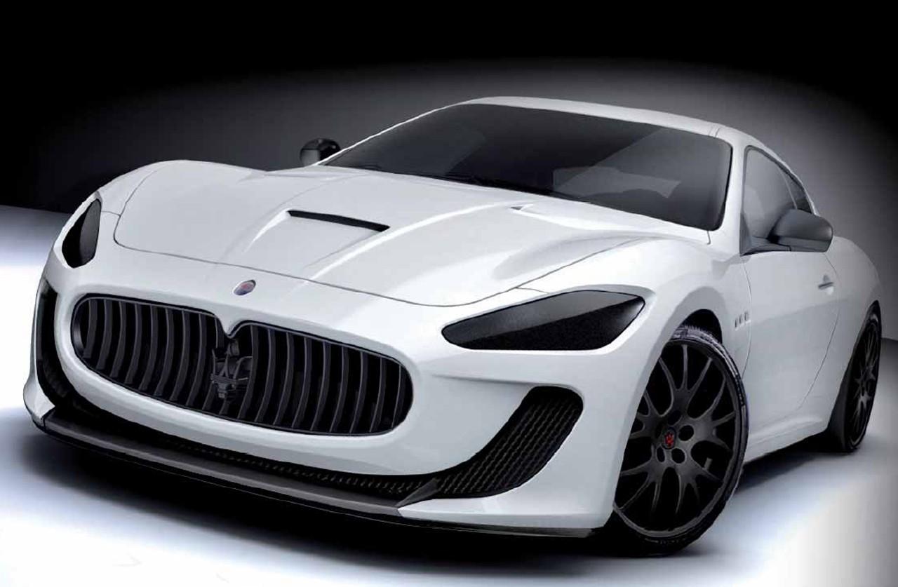 Maserati Granturismo Mc Concept. Maserati GranTurismo MC