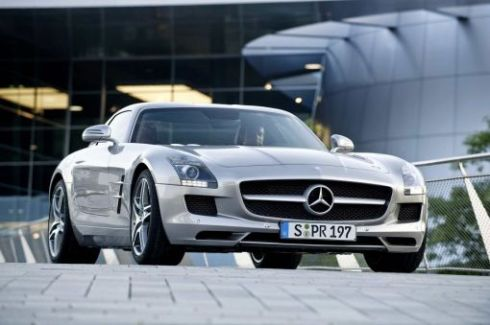 mercedes benz sls-amg-gullwing